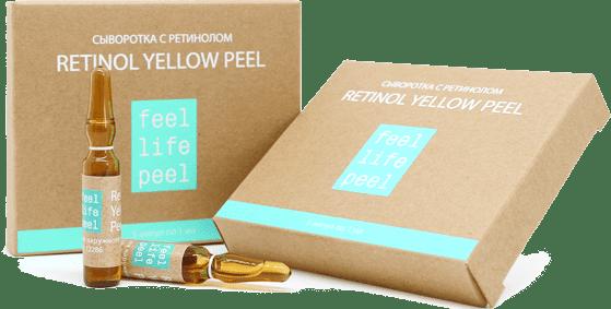 Yellow Peel - Peeling medyczny do leczenia blizn po trądziku retinolem i witaminą C.